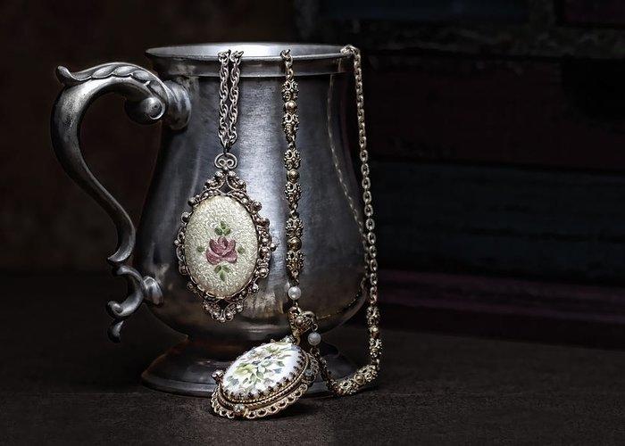 Jewelery Photographs Greeting Cards