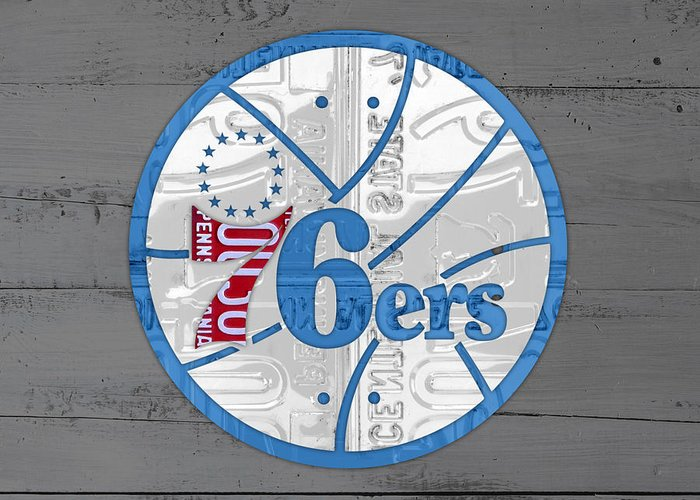 Philadelphia 76ers Greeting Cards