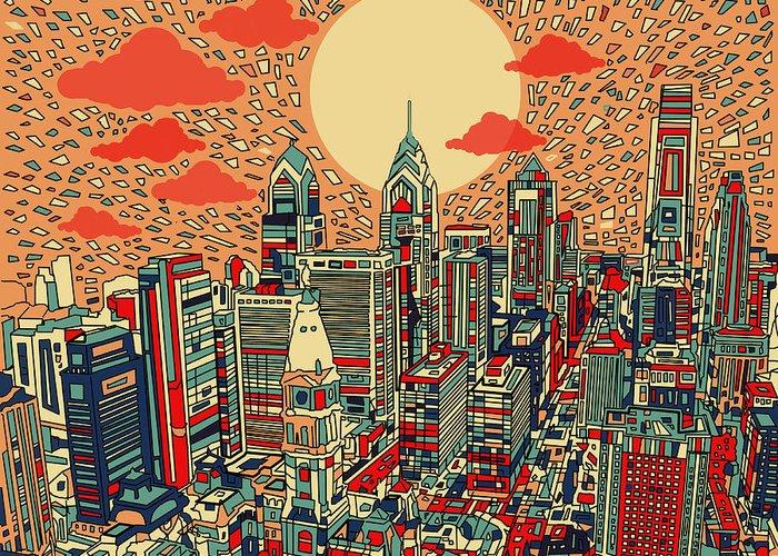Philadelphia Phillies Paintings Greeting Cards