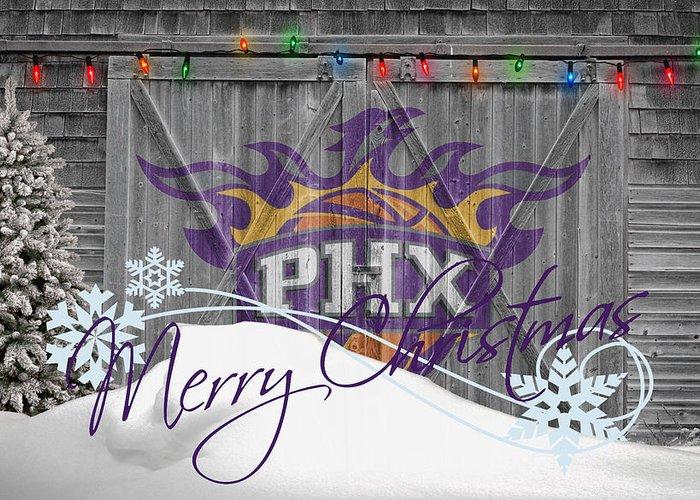 Suns Greeting Card featuring the photograph Phoenix Suns by Joe Hamilton
