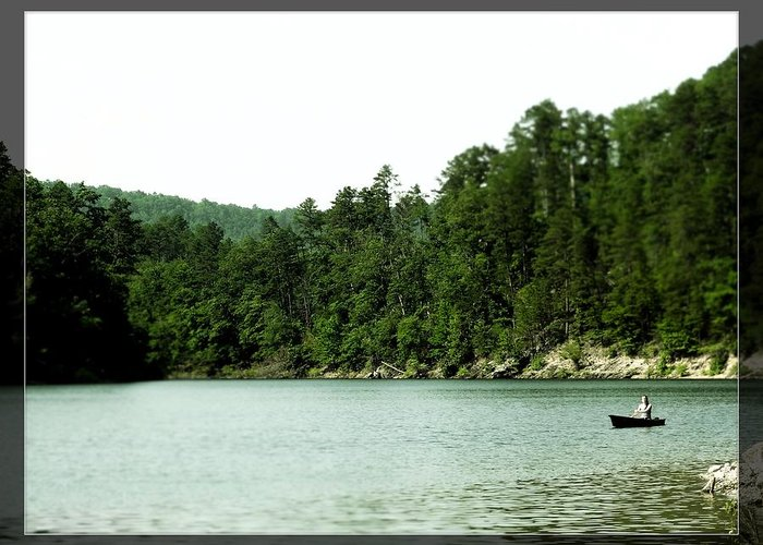 Lake Greeting Card featuring the photograph Photograph by Anandi Godse