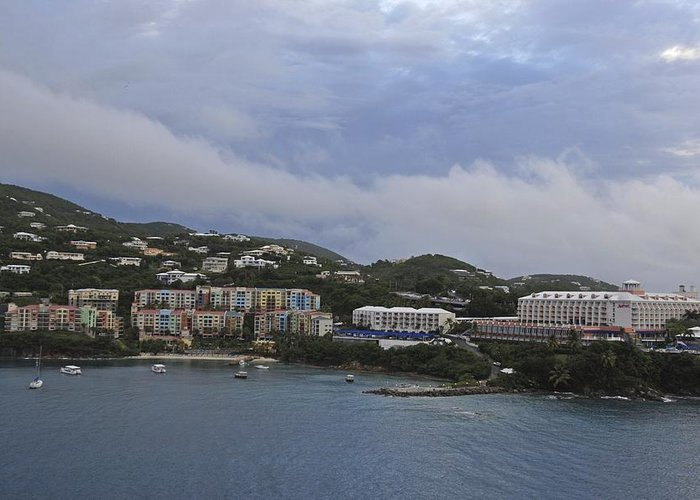 Saint Thomas Greeting Card featuring the photograph Picture Perfect Saint Thomas by Willie Harper