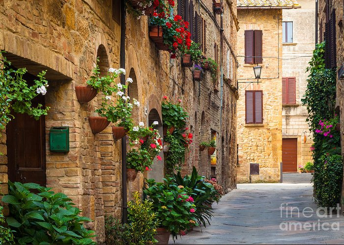 Pienza Greeting Cards