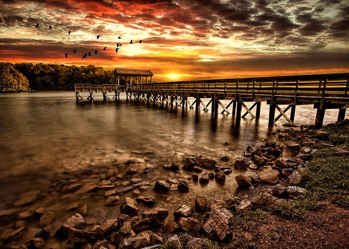 Pier Photographs Greeting Cards