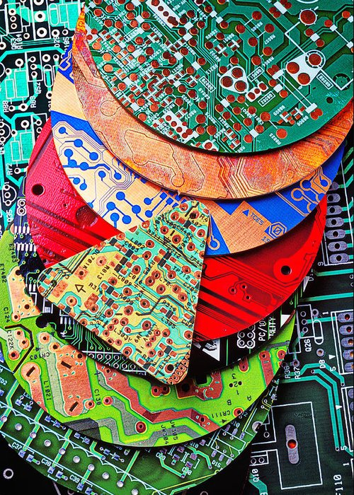 Electronic Component Greeting Cards