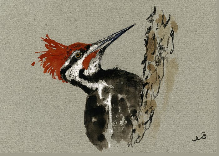 Pileated Greeting Cards