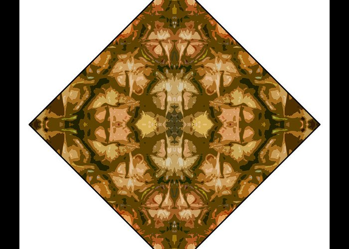 Pineapple Greeting Card featuring the digital art Pineapple Skin by Roberto Alamino