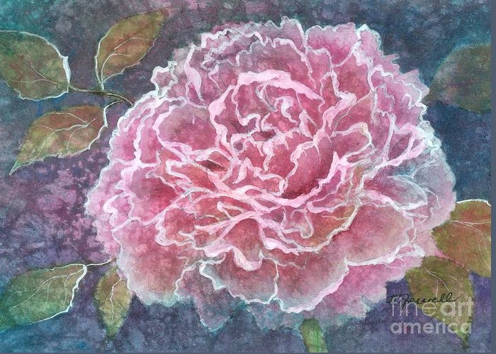 Water Http://fineartamerica.com/images-medium/pink-beauty-barbara-jewell.jpg?timestamp=1338949785color Paintings Greeting Card featuring the painting Pink Beauty by Barbara Jewell