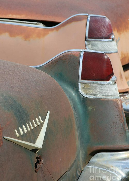 Cars Greeting Card featuring the photograph Pink Cadillac by Crystal Nederman
