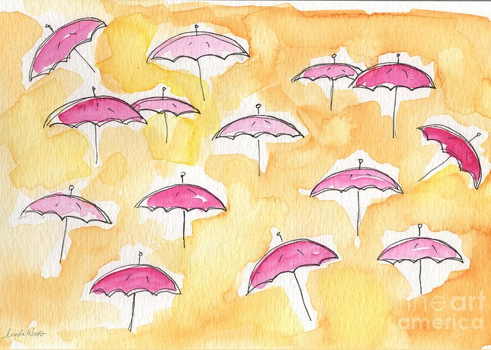 Rain Greeting Cards