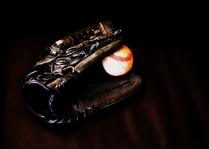 Baseball Greeting Card featuring the photograph Play Ball Fine Art Photo by Jon Van Gilder