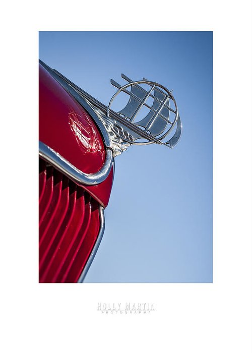 Antique Automobile Greeting Card featuring the photograph Plymouth by Holly Martin