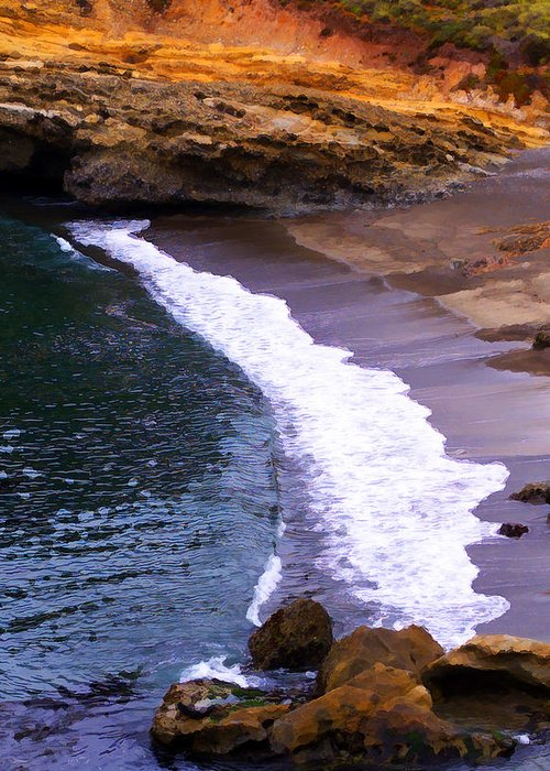 Pt. Lobos Greeting Card featuring the photograph Point Lobos by Ron Regalado