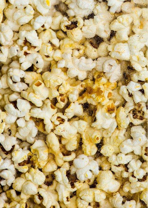 Abundance Greeting Card featuring the photograph Popcorn - Featured 3 by Alexander Senin