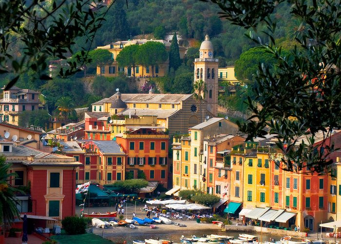 Italy Greeting Card featuring the photograph Portofino by Carl Jackson