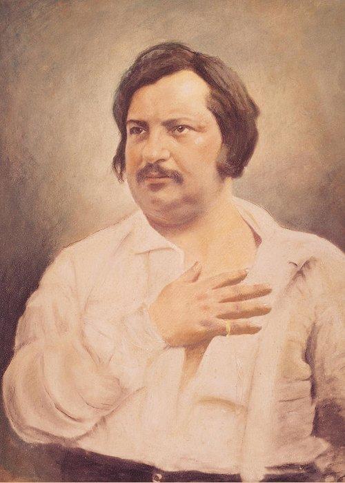 Balzac Greeting Cards