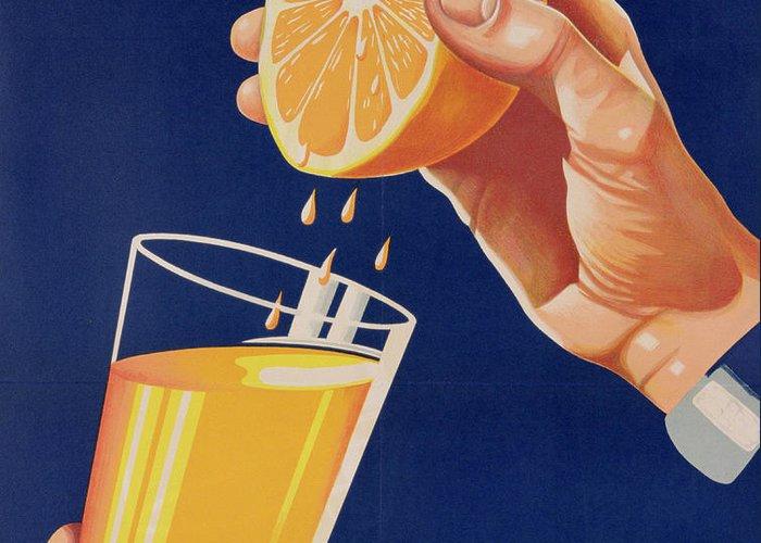 Beverage Drawings Greeting Cards