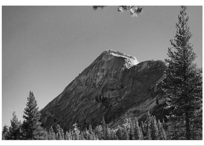 Pothole Greeting Card featuring the photograph Pothole Dome In Yosemite by Gene Norris