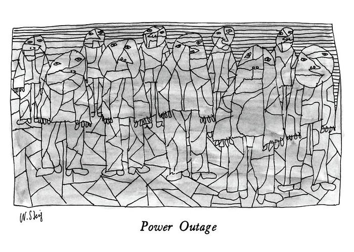 Power Outage Greeting Cards