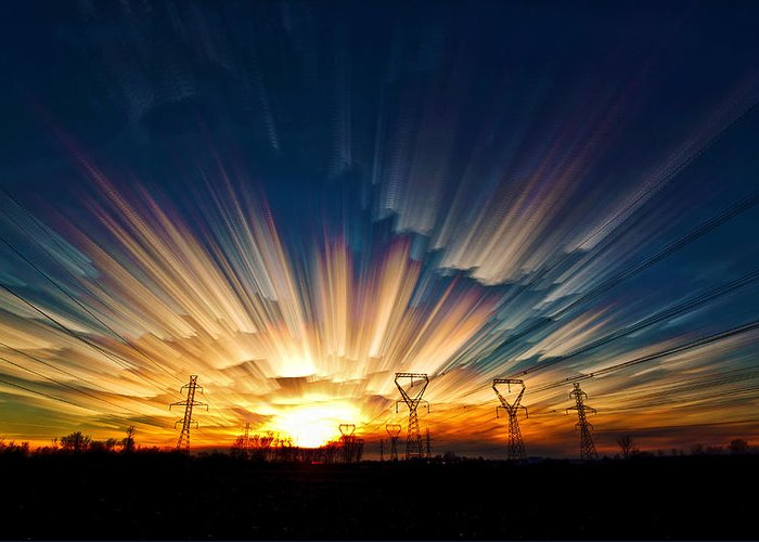 Matt Molloy Greeting Card featuring the photograph Power Source by Matt Molloy