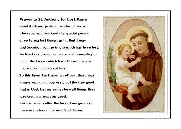 Saint of lost love