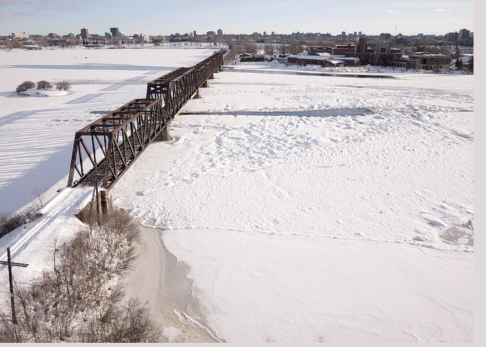 Canada Greeting Card featuring the photograph Prince Of Wales Railway Bridge, Ottawa by Rob Huntley