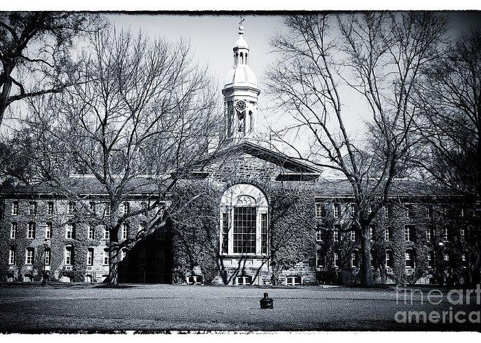 Princeton University Greeting Card featuring the photograph Princeton University by John Rizzuto
