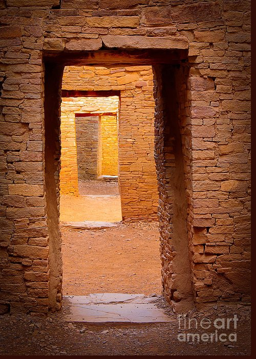 Chaco Canyon Greeting Cards