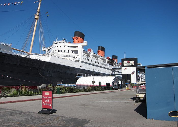 Queen Greeting Card featuring the photograph Queen Mary - 12123 by DC Photographer