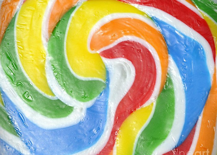 Swirl Greeting Card featuring the photograph Rainbow Swirl by Luke Moore