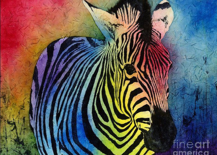 Prints Of Zebras Greeting Cards