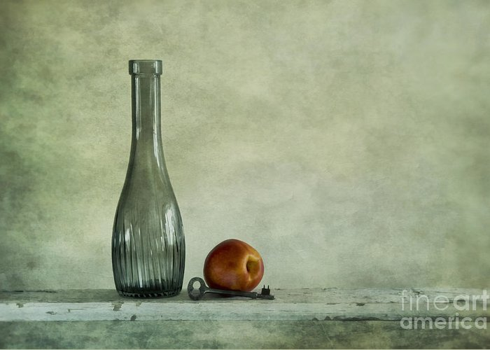 Randomly Greeting Card featuring the photograph Random Still Life by Priska Wettstein
