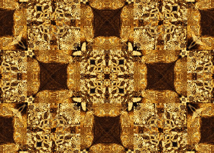 Rattlesnake Greeting Card featuring the photograph Rattlesnake Abstract 20130204p0 by Wingsdomain Art and Photography