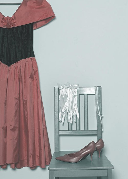 Dress Greeting Card featuring the photograph Ready To Go Out by Joana Kruse
