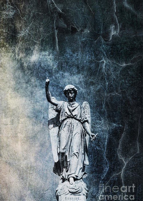 Cemetery Greeting Card featuring the photograph Reckoning Forces by Andrew Paranavitana