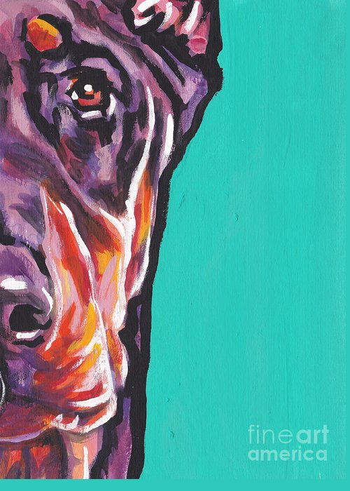 Doberman Pinscher Greeting Cards