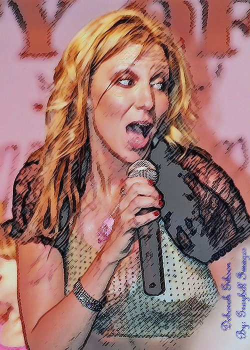 Debbie Gibson Greeting Card featuring the photograph Red Hot by Brian Graybill