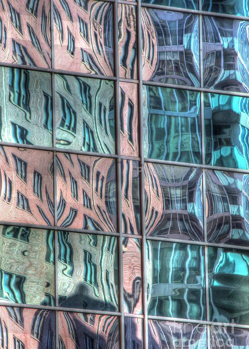 Reflect Greeting Card featuring the photograph Reflection 19 by Jim Wright