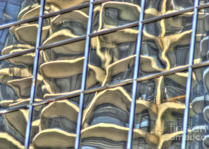 Reflect Greeting Card featuring the photograph Reflection 7 by Jim Wright