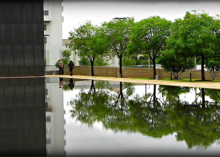Reflection Greeting Card featuring the photograph Reflection Pool by Dale Paul