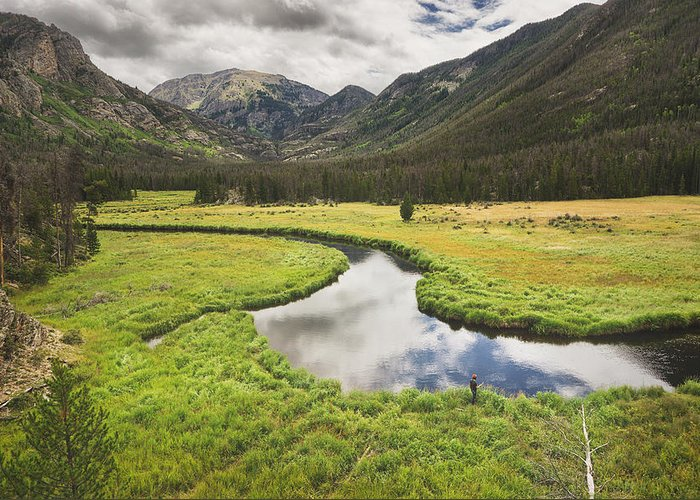 Colorado Greeting Card featuring the photograph Reflections by D Scott Clark