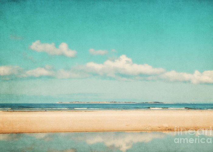 North Sea Greeting Card featuring the photograph Relax by Angela Doelling AD DESIGN Photo and PhotoArt