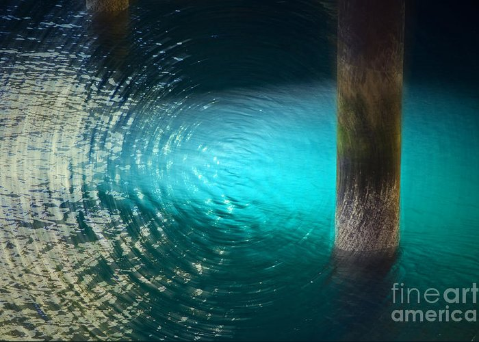 Water Greeting Card featuring the photograph Resonance by Gwyn Newcombe