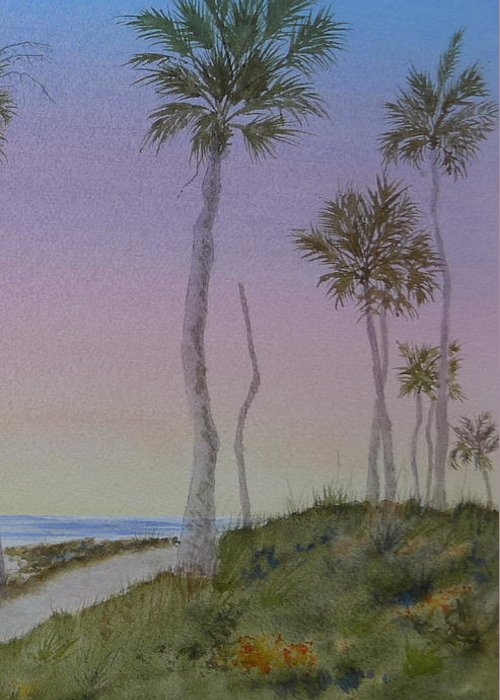 Edisto Island Greeting Card featuring the painting Reveille by Joel Deutsch