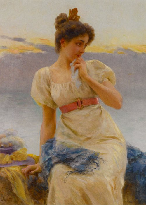 Federico Andreotti Greeting Card featuring the photograph Reverie by Federico Andreotti