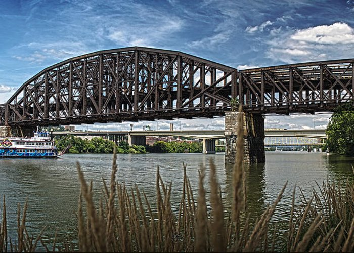 River Greeting Card featuring the photograph River Ferry by Brian Archer
