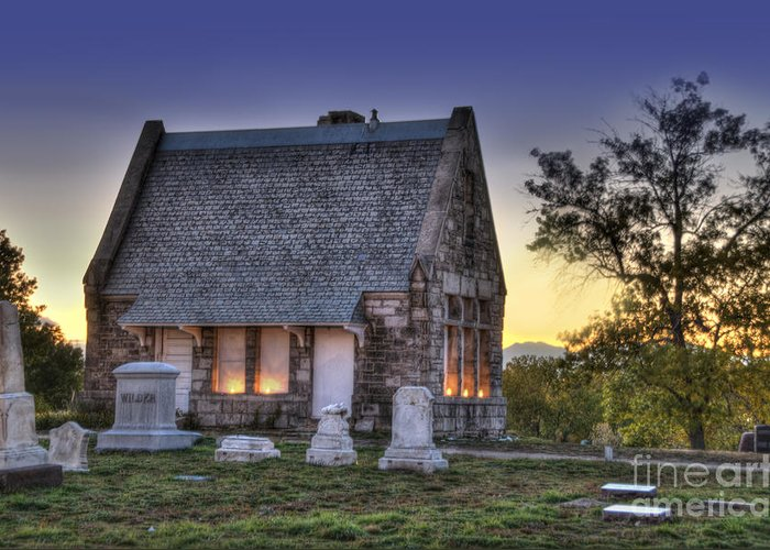 Riverside Cemetery Greeting Cards