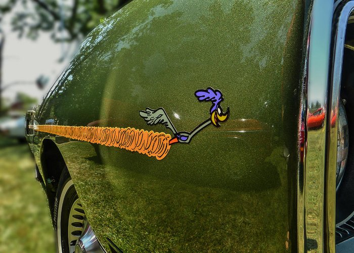 Car Greeting Card featuring the photograph Road Runner by Capt Gerry Hare