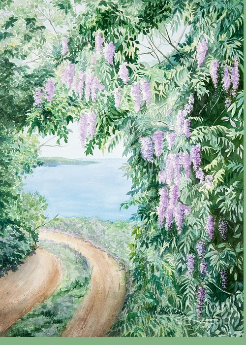Paradise Road Paintings Greeting Cards