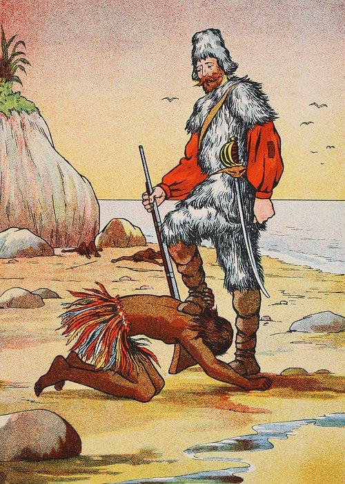 robinson crusoe and friday ile ilgili görsel sonucu